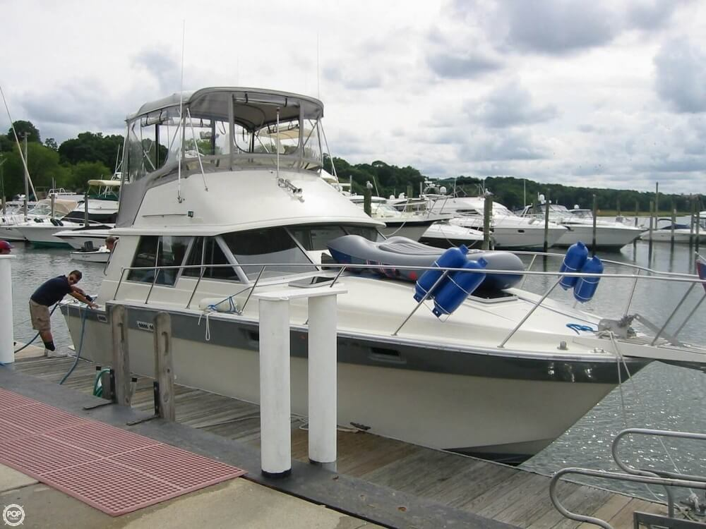 Silver Wave 34 Convertible 1987 Silverton 34 Convertible for sale in Stony Brook, NY