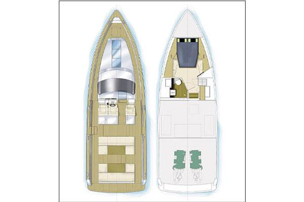 Fjord 40 Open Manufacturer Provided Image: Layout Plans