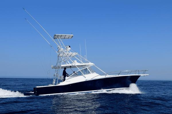 Luhrs 38 Open 2006 Luhrs Express Starboard Profile