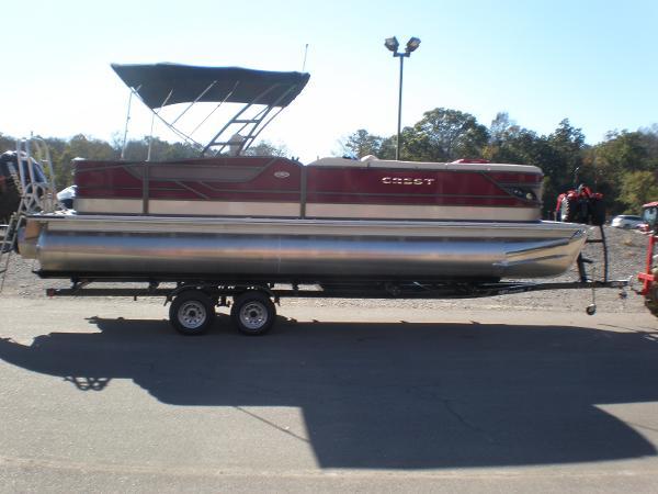 Crest Pontoon Boats Classic 250 SLR2