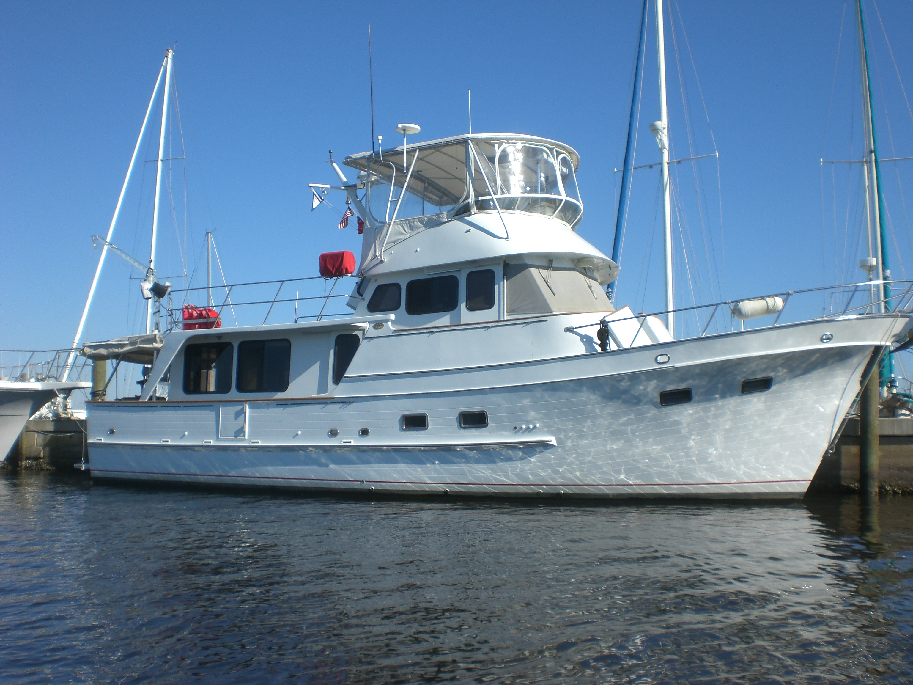 1988 de fever 49 pilothouse tampa florida for Sips for sale