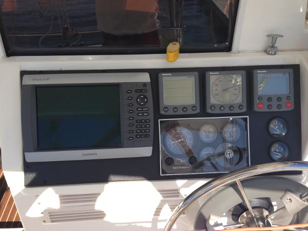 GPS, auto pilot & instruments