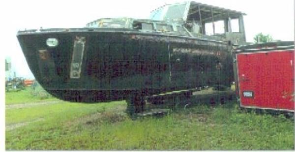 Sewart Seacraft Work Boat 1954 38.5' x 12' x 3.7' Sewart Seacraft Work Boat Project