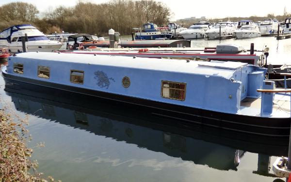 Aqualine 60' x 10 Widebeam Narrowboat