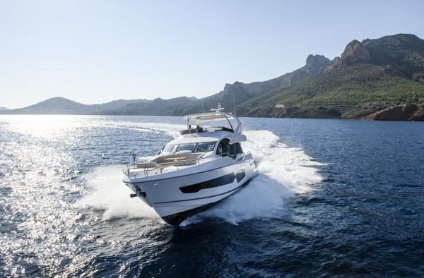 Sunseeker 76 Yacht Manufacturer Provided Image: Sunseeker 76 Yacht