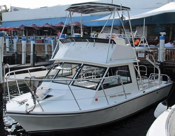 Island Hopper 30' Dive Fly bridge 2001 Island Hopper