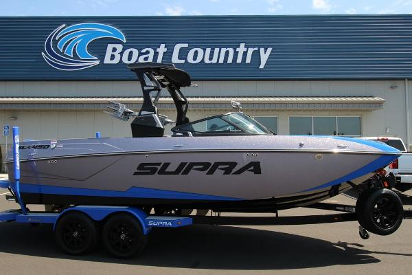 Supra SL 450 with Swell Surf System