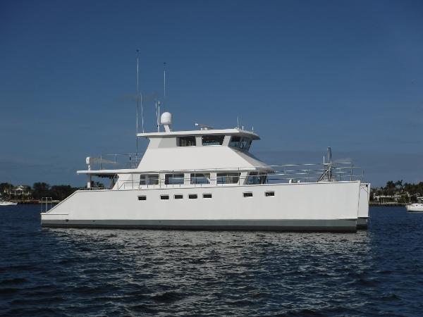 Malcolm Tennant Power Catamaran