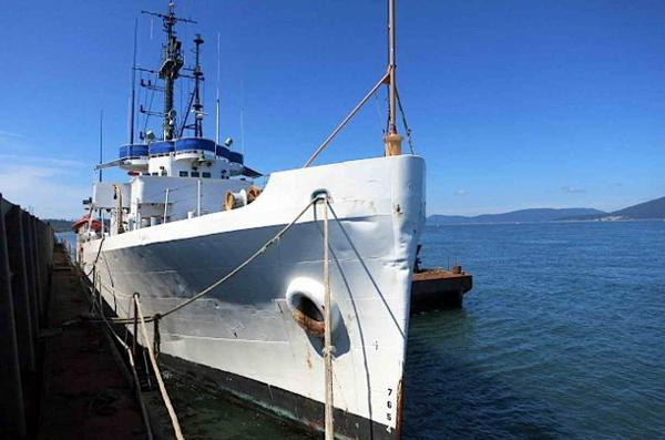 Coast Guard Cutter - Ex, Steel Hull