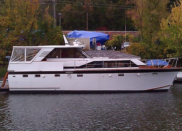 Trojan Flush Deck Motor Yacht