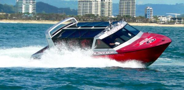 Custom Oceantech Jet Boat