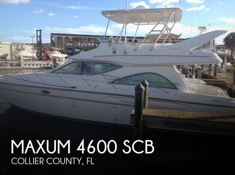 Maxum 4600 SCB 1999 Maxum 4600 SCB for sale in Marco Island, FL