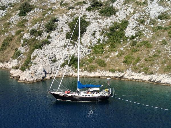 Custom Van Brussels Steel 46 Steel sailing yacht for sale in Greece