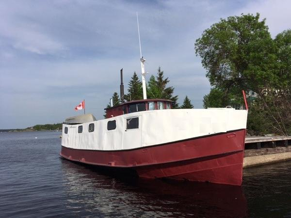 Commercial 46' x 12.5' Fish Tug