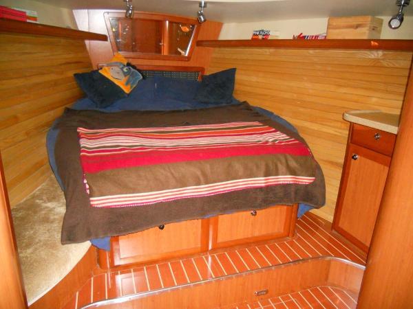 Master cabin berth