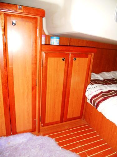 Port Aft Cabin storage