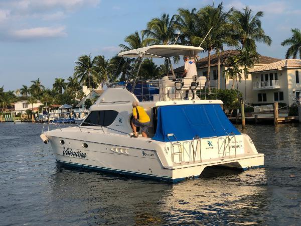 Sea Cat Power catamaran Voyager 1040