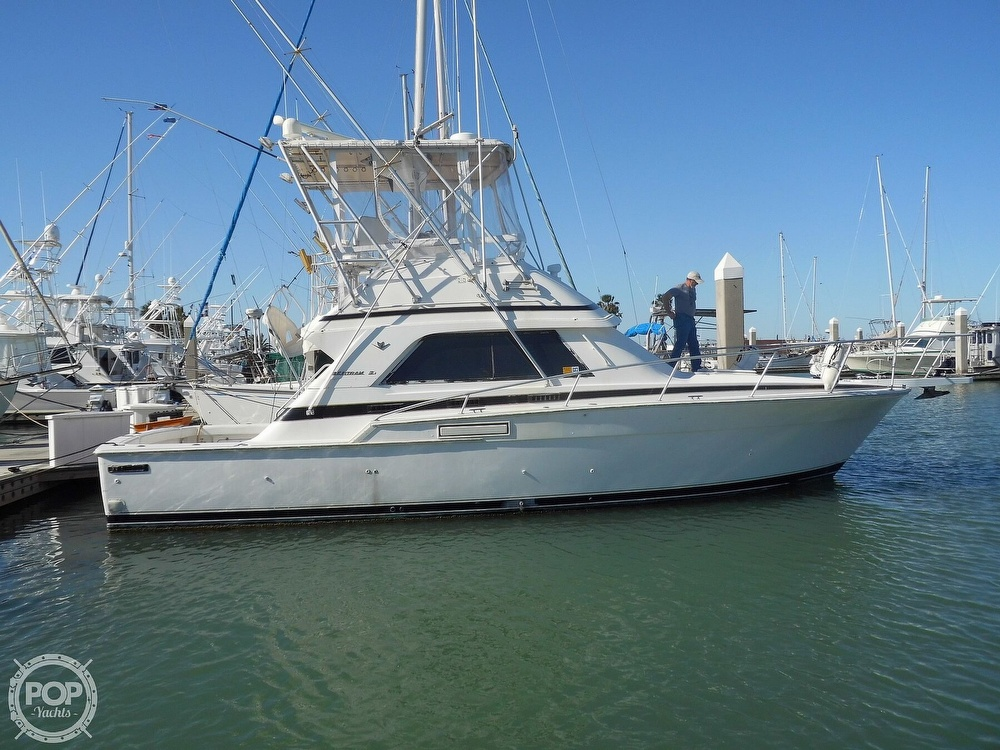 Bertram 37 Sport Fisherman 1989 Bertram 37 SportFish for sale in Port Aransas, TX