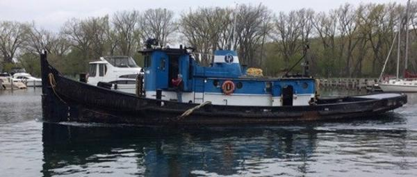 Commercial 64' 1100hp Tug Retractable WH