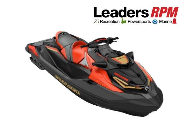 Sea-Doo RXT®-X® 300 IBR Eclipse Black and Lava Red