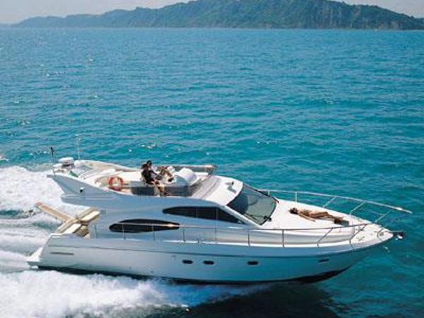 Ferretti 480 Ferretti 480 - underway (catalogue photo)