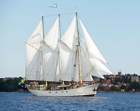 Custom 3-masted Schooner