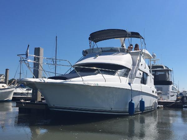 Silverton 392 Motor Yacht Boat at slip #1