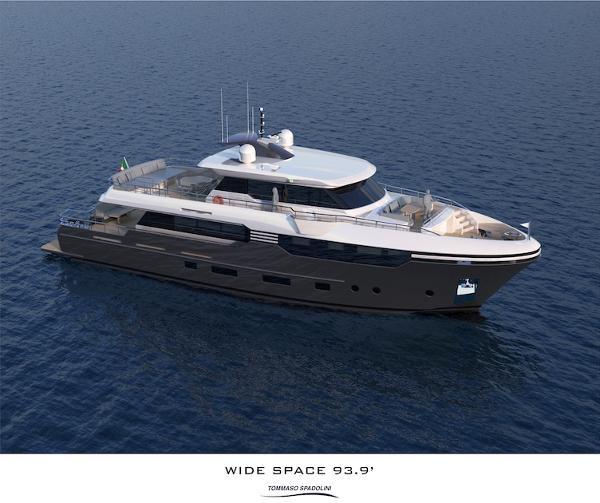 """Italian Vessels Wide Space 93.9"""""""