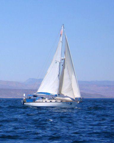 Cape Dory Under sail