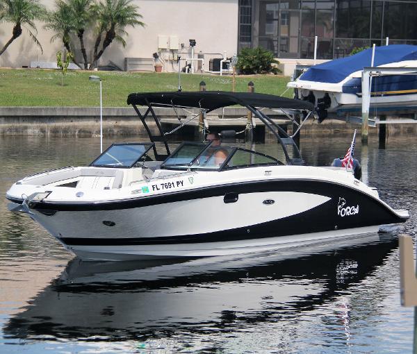 Sea Ray 270 SUNDECK-OB Port Profile