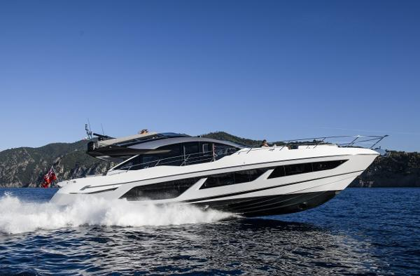 Sunseeker 74 Sport Yacht Manufacturer Provided Image: Sunseeker 74 Sport Yacht