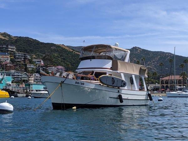 Marine Trader Europa At Catalina Island
