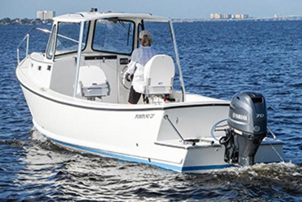 Atlas Boat Works Pompano 23