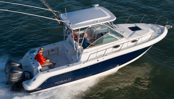 Walkaround robalo boats for sale for Best small cabin boats