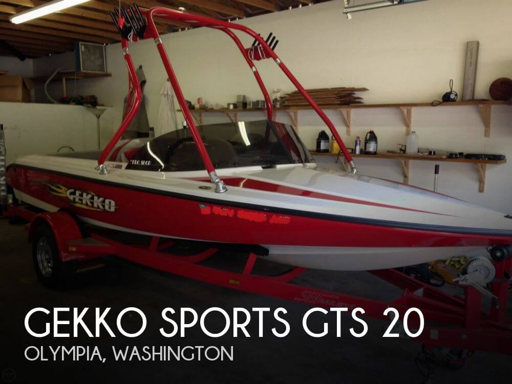 Gekko GTS 20 2005 Gekko Sports GTS 20 for sale in Olympia, WA