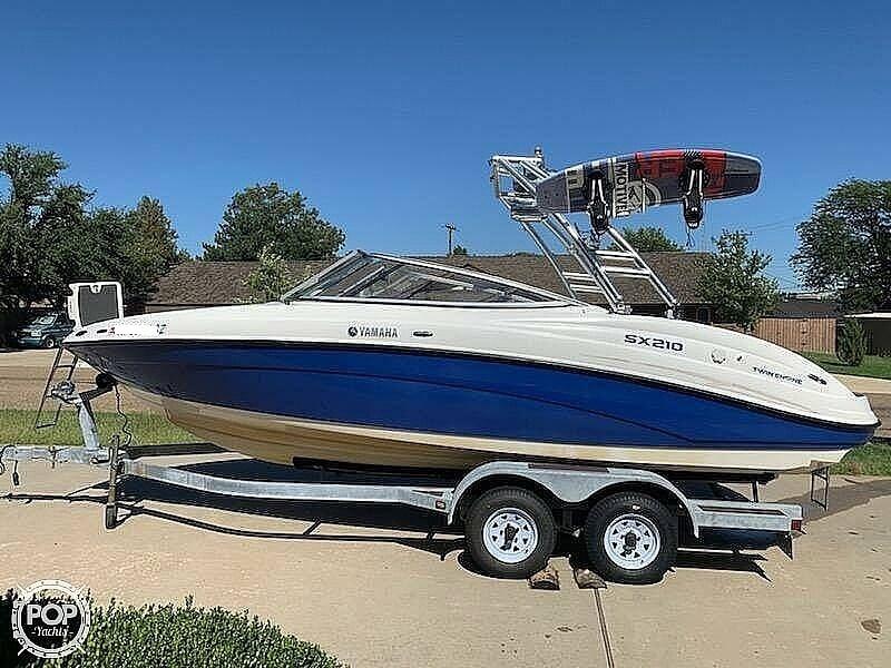 Yamaha Boats SX210 2009 Yamaha SX210 for sale in Borger, TX