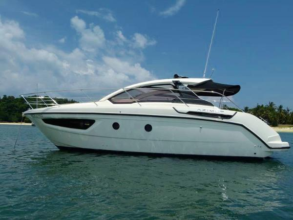 Azimut Atlantis 34 Actual boat
