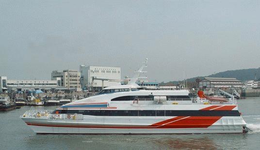 Custom High Speed Catamaran Ferry