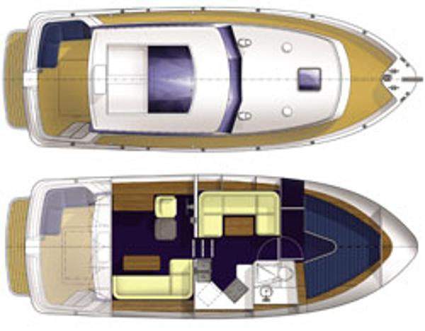 Manufacturer Provided Image: Hardy Commander 32 Layout Plans