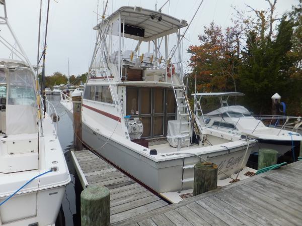 Viking 40 Sportfish w 465 Yanmar's