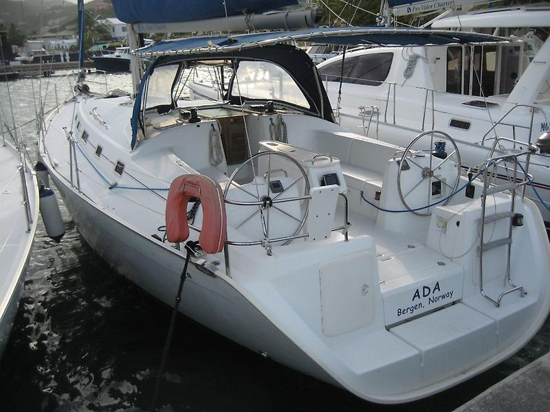 Beneteau Cyclades 43.3 Starbord Aft Quater (old name)