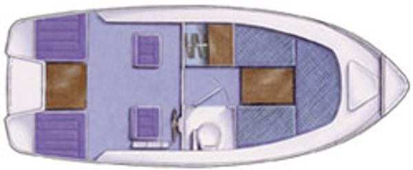 Manufacturer Provided Image: Hardy Bosun 20 Layout Plan