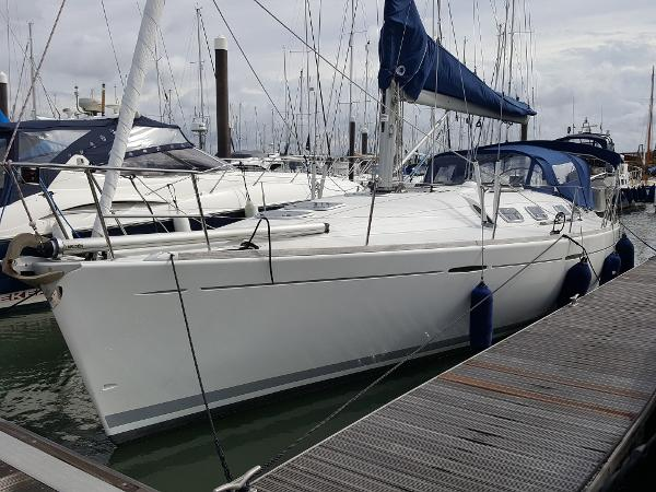 Beneteau First 42s7 Home berth Woolverstone Marina.