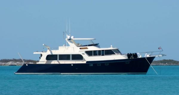 Marlow Explorer 70E SEABIRD II In the Bahamas