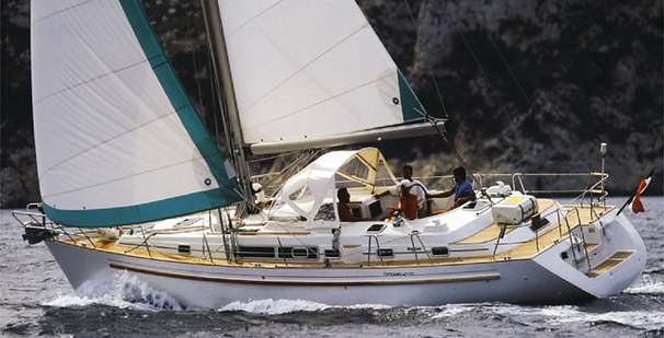 Beneteau Oceanis 40 CC Beanteau 40 CCManufacturer Provided Image: Photo: G.M. Raget.