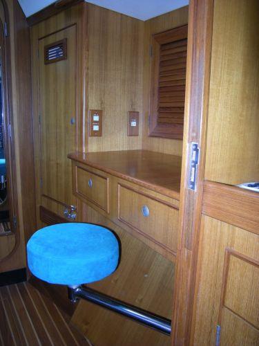 Fwd Berth Cabinets & seat