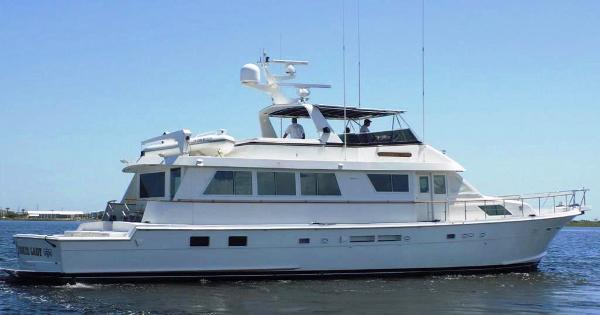 Hatteras Motor Yacht with Cockpit Hatteras 74' Yacht-Fish - 1990