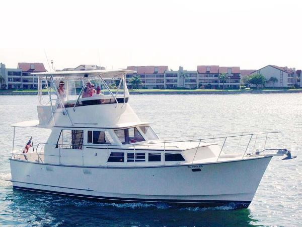 Roughwater Convertible Pilothouse Profile