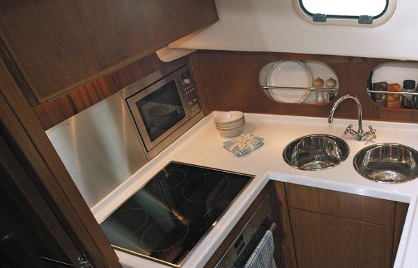 Manufacturer Provided Image: Hardy Commodore 42 Galley