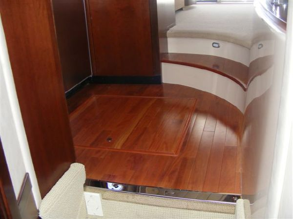Wood Galley Floors w/Storage